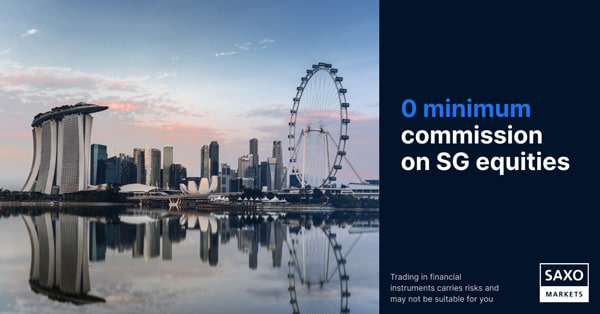 Saxo Markets announces suite of price reductions on SGX equities, free live prices on all stock exchanges